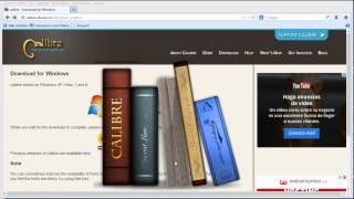 Cómo usar el lector de Epub Calibre