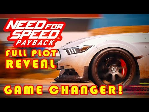 NEED FOR SPEED PAYBACK FULL PLOT REVEALED AND MORE STORY DETAILS