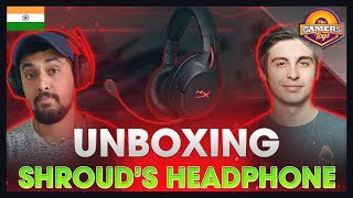 Shroud's Headset | HyperX Cloud Flight Wireless Headset Unboxing and First Look