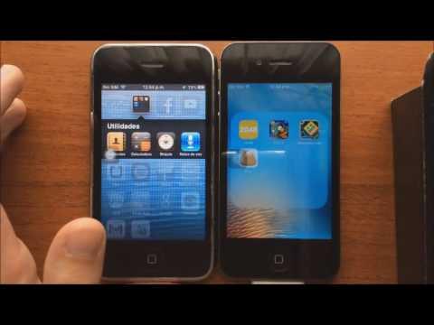 iPhone 3GS vs iPhone 4S ¿Quién gana en el año 2016? - Prueba de Velocidad iOS 6 vs iOS 9