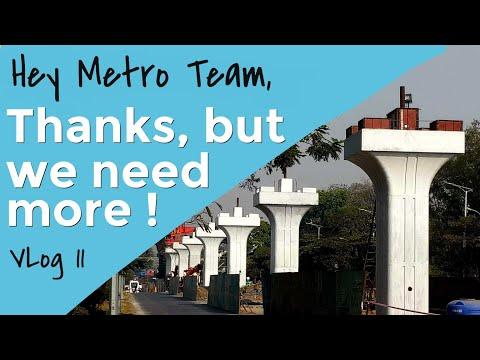 Pune Metro Rail Progress- VLog Part 11- Thanks for Responding, But we need more !