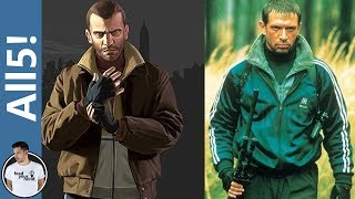 5 Video Game Characters Based On Real People!