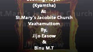 Evening prayer(kyamtha).wmv