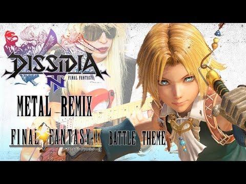 Final Fantasy IX - Battle Theme (Metal Remix) Instrumental Guitar Cover