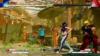 Street fighter 5, El camino hacia el mas looser 2