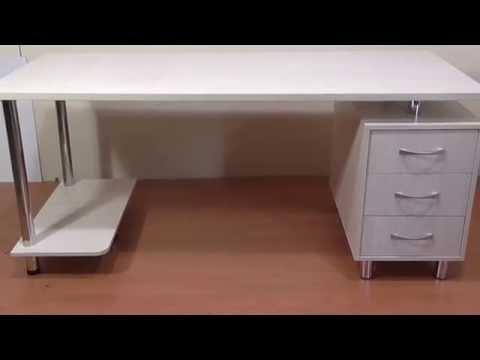Стильный компьютерный  стол Арни