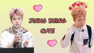 JINHO BEING CUTE FOR 5 MINUTES