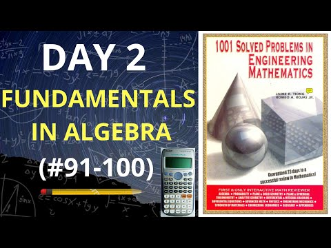 1001 Solved Problems in Engineering Mathematics| Day 2 (problems 91-100) thumbnail