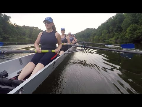 Rivanna Rowing Club; Learning How To Pickup The Organized Rowing