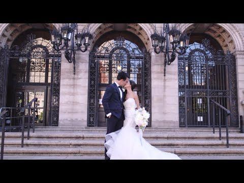 Our Chinese Tea Ceremony + Wedding Vows at Boston Public Library