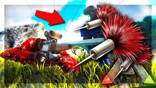 ARK: Survival Evolved Seŗver - TRANQUILIZER GUN! #39