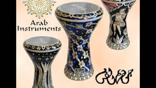 Gawharet El Fan Darbuka Collection - Sound Samples (using the Split Fingers) - طبلة