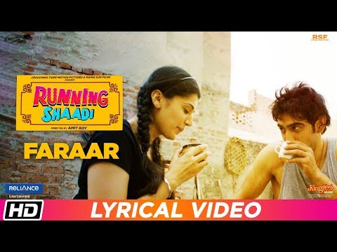 Faraar  Lyrical Video  Running Shaadi  Jubin Nautiyal  Taapsee Pannu  Amit Sadh