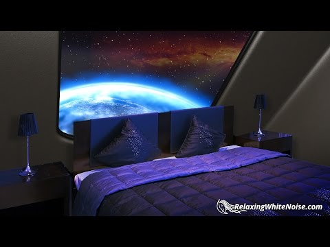 Starship Sleeping Quarters |Sleep Sounds White Noise with Deep Bass 10 Hours