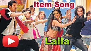 First look - hot sunny leone's laila teri le legi item song revealed -  shootout at wadala