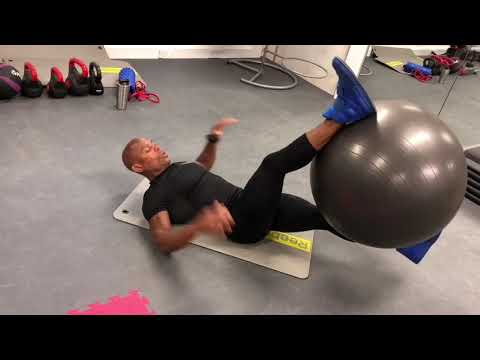 Cuban Cardio Effective Stability Core & Abs Swiss Ball Exercises