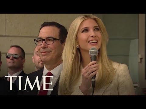 Ivanka Trump And Steve Mnuchin Unveil U.S. Seal At New Embassy In Jerusalem  TIME