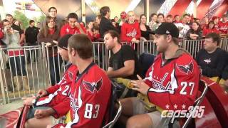 Washington Capitals Players and Season-Tickets Holders at Six Flags