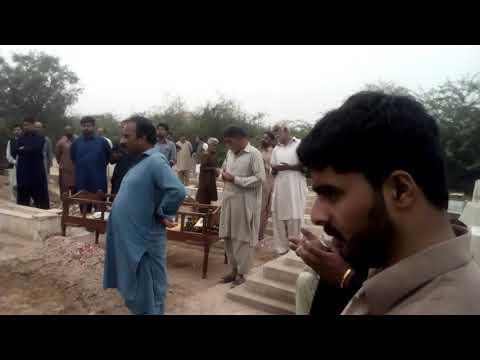 Syed saqlain shah Shirazi burial and namaz e janaza i n ancestral graveyard Abdullah Shiraxi a(7)