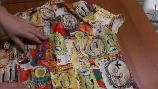 Обзор двух блузок: качели и цельнокройный воротник