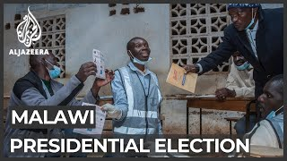 Vote counting under way in Malawi's presidential election rerun