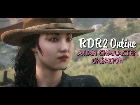 RDR2 Online How to Make a Cute Female Asian Character
