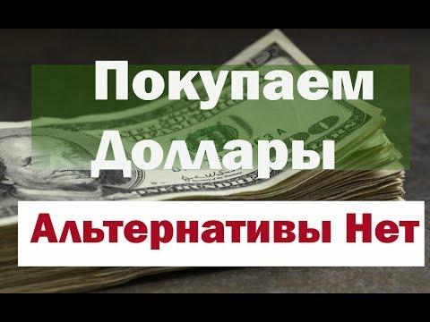 Покупаем доллары ! Альтернативы нет.  Прогноз курса доллара на год