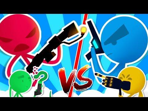 Stick Fight - Maschi contro Femmine - W/Lyon e Anna