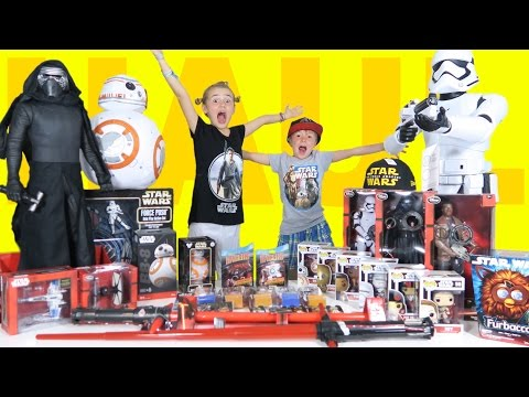 Ultimate Star Wars VII The Force Awakens Toy Haul