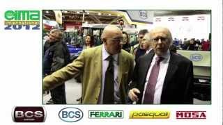 BCS a EIMA 2012: Intervista a Fabrizio Castoldi - Presidente BCS SpA