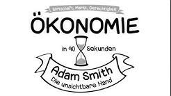 Ökonomie in 90 Sekunden: Adam Smith und die unsichtbare Hand