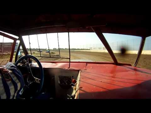 North Central Speedway Full Bodies Heat Race 7/12/2014