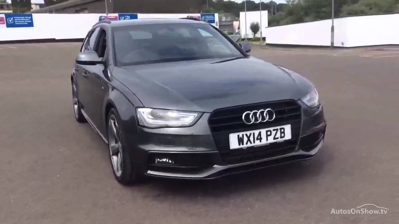 Used audi a4 avant black edition