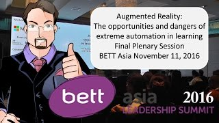 Augmented reality: The opportunities and dangers of extreme automation in learning