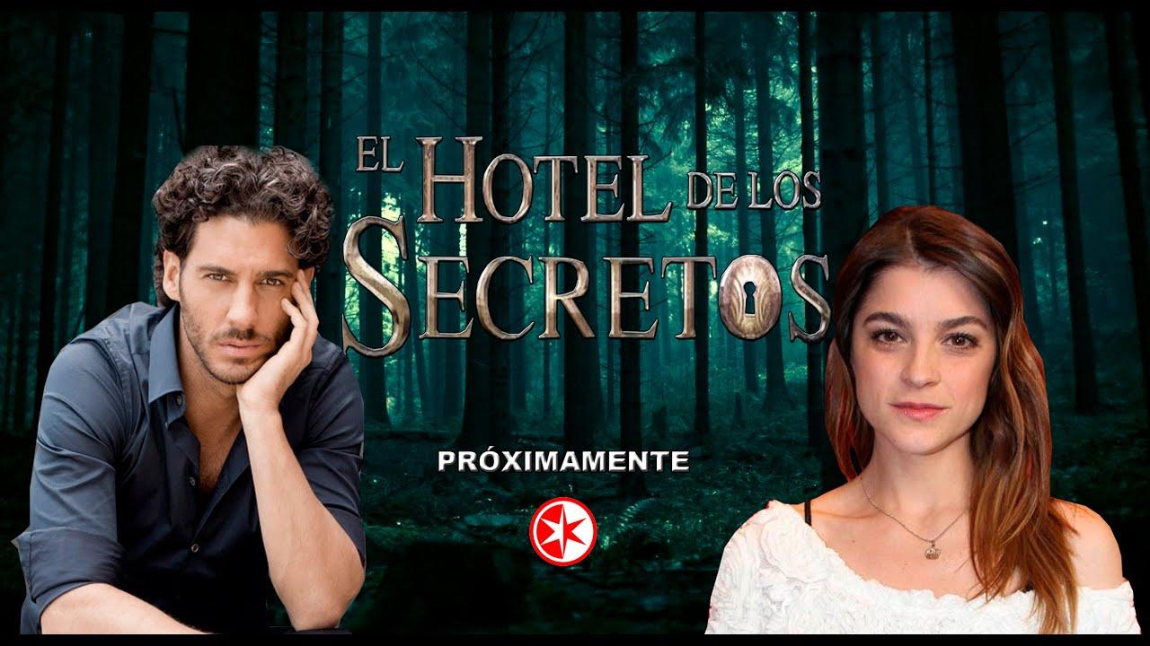 Telenovela el hotel de los secretos primer promocional for Bazzel el jardin de los secretos