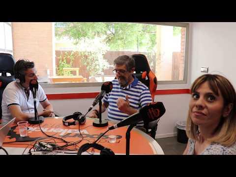 Entrevista a Blas y a Patricia en la radio de Valencia