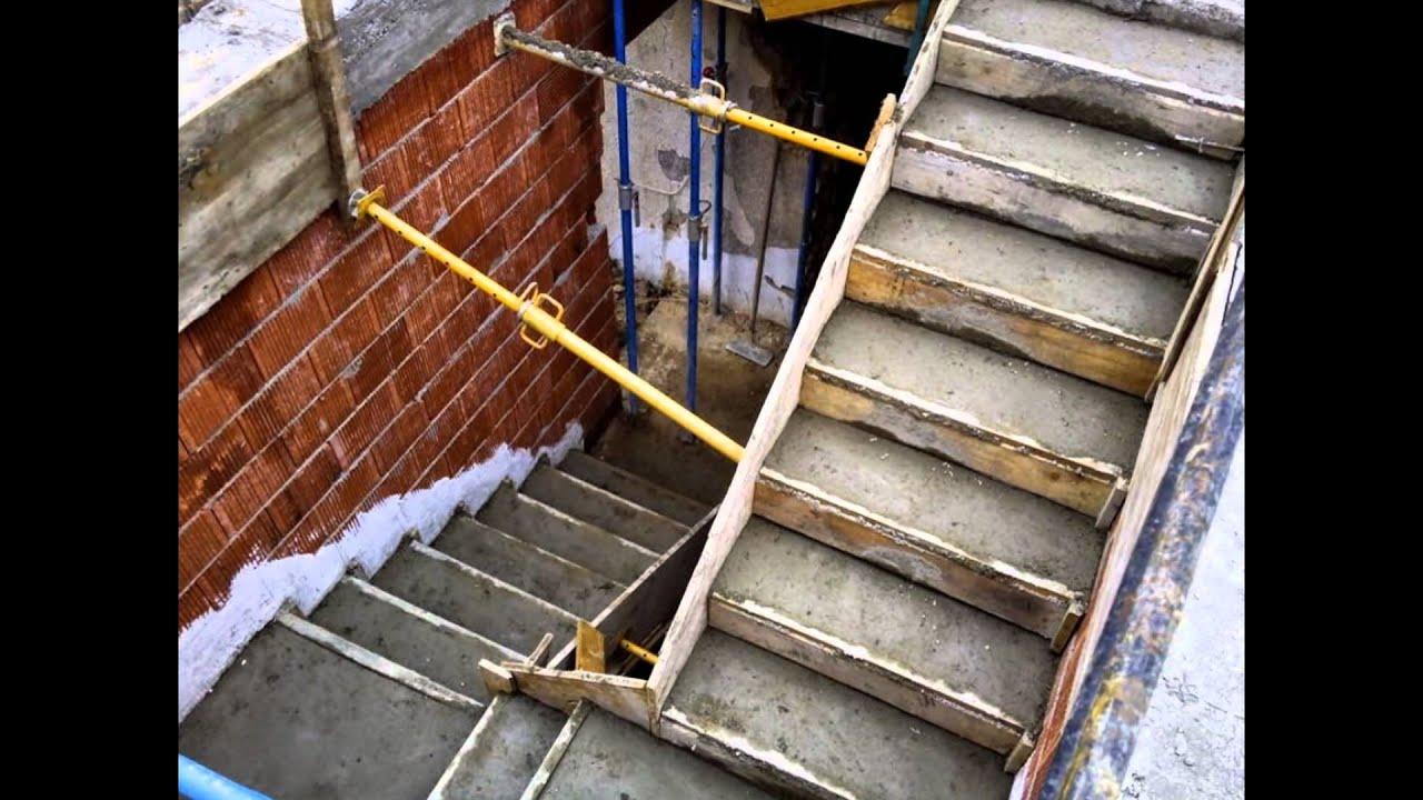 Estructuras encofrados de hormig n cartagena san javier for Encofrado de escaleras de concreto