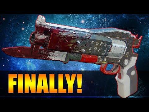 MY LIFE IS COMPLETE NOW!   Destiny 2 New Exotic Crimson