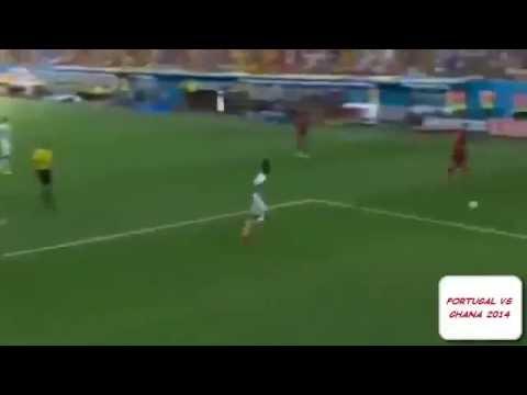 PORTUGAL VS GHANA 2014 2 1   HIGHLIGHTS & GOALS   WORLDCUP FOOTBALL 2014