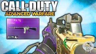 "Advanced Warfare: M16 GAMEPLAY! Legendary M16 ""WAR PIG"" Variant - New Supply Drop DLC Weapon"