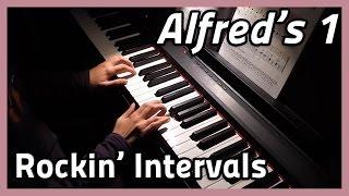 ♪ Rockin' Intervals ♪ Piano | Alfred's 1