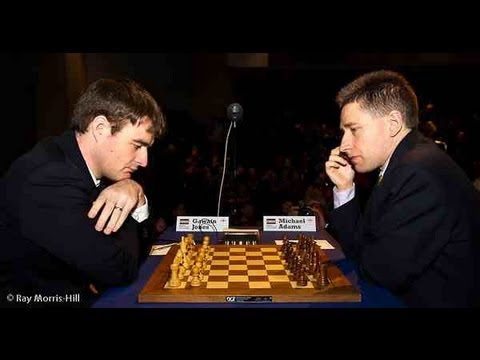 Chess World.net: Gawain Jones vs Michael Adams - London Chess Classic (2012) - Nimzo-Indian (E46)