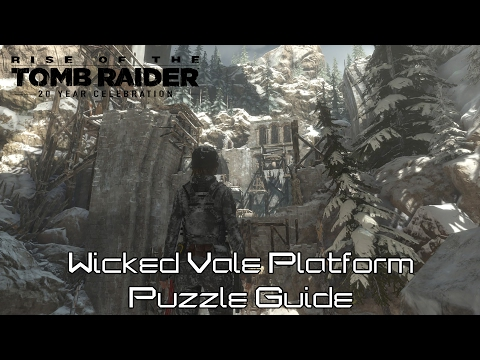 BabaYaga DLC: Wicked Vale Rope/Platform Puzzle Solution - Rise Of The Tomb Raider