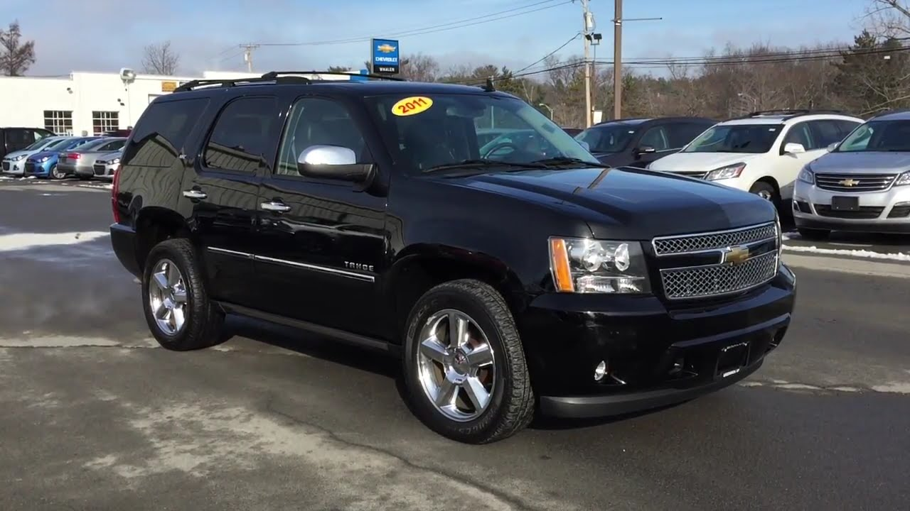 hight resolution of 2011 chevrolet tahoe ltz for sale whalen chevrolet in greenwich ny youtube
