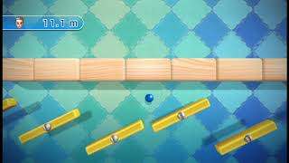 Wii Play: Motion - Teeter Targets Endless Mode (Sideways Stage)