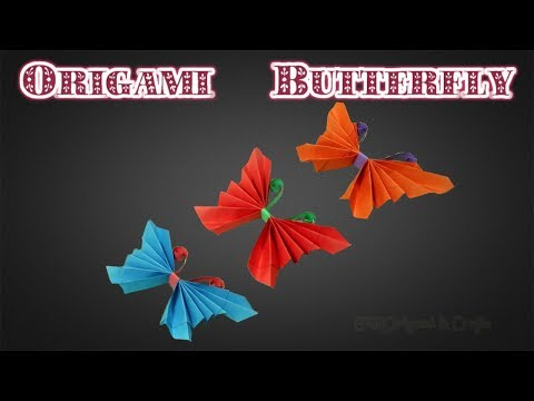 DIY Paper Crafts: How To Make An Easy Origami Butterfly