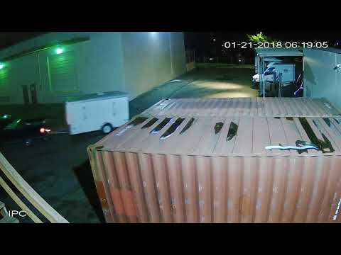 Unknown People Stealing SULLIVAN ELECTRIC LLC Work Trailer