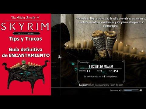 Skyrim Special Edition | Tips y Trucos | Guía definitiva de Encantamiento