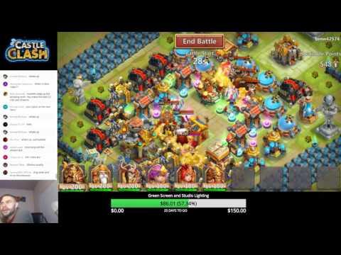 Castle Clash: Guild Wars Scouting 9/15/16