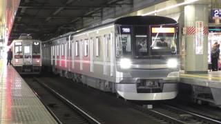 東京メトロ13000系13102F乗務員訓練 北千住出発